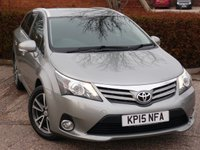 2015 TOYOTA AVENSIS 2.0 D-4D ICON 5d 124 BHP £8690.00