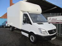 2012 MERCEDES-BENZ SPRINTER 313 CDi LWB 4 Metre Luton with Tailift *ONLY 34000 MILES* £SOLD