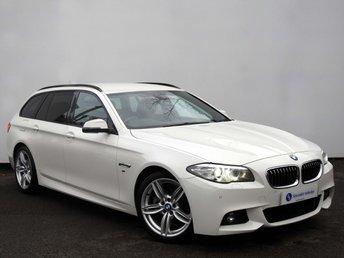 2013 BMW 5 SERIES 2.0 520D M SPORT TOURING 5d AUTO 181 BHP £18750.00