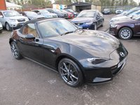 2015 MAZDA MX-5 2.0 SPORT NAV 2d 158 BHP CONVERTIBLE + HEATED LEATHER £14999.00