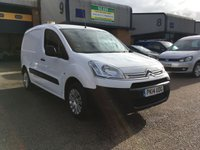 USED 2014 14 CITROEN BERLINGO 1.6 850 ENTERPRISE L1 HDI 1d 89 BHP FSH, A/C, BLUETOOTH, 3 SEATS, 6 MONTH WARRANTY & FINANCE ARRANGED. FSH, A/C, Bluetooth, Parking Sensors, 3 seats, SATNAV, Radio/CD, Drivers airbag, Factory fitted bulk head, Side loading door, Ply-lined. white, 1 Owner, remote Central Locking, Drivers Airbag, CD Player/FM Radio, Steering Column Radio Control, Side Loading Door, Wood Lined, Barn Rear Doors, finance arranged & 6 months premium Autoguard warranty
