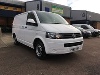 2012 VOLKSWAGEN TRANSPORTER 2.0 T28 TDI BLUEMOTION TECHNOLOGY 1d 84 BHP £10295.00
