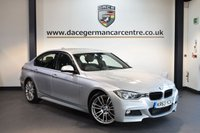 USED 2013 63 BMW 3 SERIES 3.0 330D M SPORT 4DR AUTO 255 BHP + FULL BLACK LEATHER INTERIOR + FULL SERVICE HISTORY + 1 OWNER FROM NEW + SATELLITE NAVIGATION + SPORT SEATS + XENON LIGHTS + BLUETOOTH + RAIN SENSORS + DAB RADIO + CRUISE CONTROL + PARKING SENSORS + 19 INCH ALLOY WHEELS +