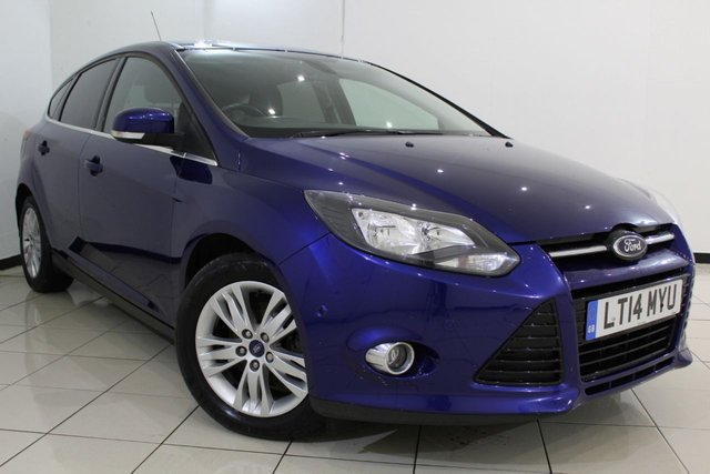 View our 2014 14 FORD FOCUS 1.6 TITANIUM NAVIGATOR ECONETIC TDCI START/STOP 5DR 104 BHP