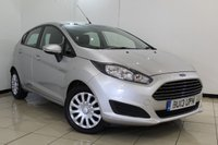 USED 2013 13 FORD FIESTA 1.5 STYLE TDCI 5DR 74 BHP FULL SERVICE HISTORY + MULTI FUNCTION WHEEL + AIR CONDITIONING + RADIO/CD + ELECTRIC WINDOWS + 15 INCH ALLOY WHEELS