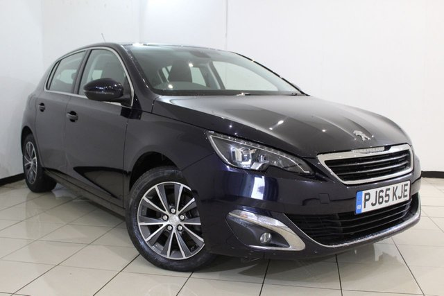 View our 2015 65 PEUGEOT 308 1.6 BLUE HDI S/S ALLURE 5DR 120 BHP