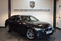 USED 2015 65 BMW 3 SERIES 2.0 320D M SPORT 4DR AUTO 188 BHP + FULL BLACK LEATHER INTERIOR + FULL BMW SERVICE HISTORY + 1 OWNER FROM NEW + SATELLITE NAVIGATION + HEATED SPORT SEATS + DAB RADIO + CRUISE CONTROL + RAIN SENSORS + AUTO AIR CONDITIONING + LIGHT PACKAGE + PARKING SENSORS + 18 INCH ALLOY WHEELS +