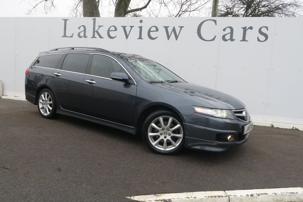 USED 2007 57 HONDA ACCORD 2.4 VTEC EXECUTIVE PLUS 5d AUTO 190 BHP
