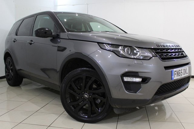 View our 2015 65 LAND ROVER DISCOVERY SPORT 2.0 TD4 HSE BLACK 5DR AUTOMATIC 180 BHP
