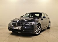 USED 2014 64 BMW 5 SERIES 2.0 520D SE 4d AUTO 188 BHP