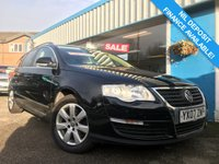USED 2007 07 VOLKSWAGEN PASSAT 2.0 TDI SE 5d 138 BHP LEATHER, AIR CON, PARK SENSORS
