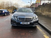 2013 MERCEDES-BENZ E-CLASS 2.1 E220 CDI BLUEEFFICIENCY S/S SPORT 4d AUTO 170 BHP £SOLD