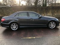 USED 2013 13 MERCEDES-BENZ E CLASS 2.1 E220 CDI BLUEEFFICIENCY S/S SPORT 4d AUTO 170 BHP