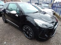 2015 DS DS 3 1.2 PURETECH DARK LIGHT S/S EAT6 3d AUTO 109 BHP £11995.00