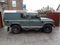 USED 2012 62 LAND ROVER DEFENDER 2.2 TD UTILITY WAGON 1d 122 BHP FULL SERVICE HISTORY. 1 YR MOT. 6 MONTHS PARTS AND LABOUR WARRANTY.