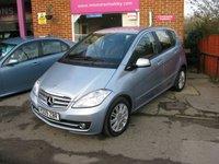 2009 MERCEDES-BENZ A CLASS 1.5 A160 ELEGANCE SE 5d AUTO 95 BHP £6495.00