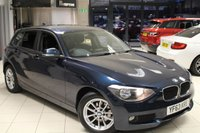 USED 2013 63 BMW 1 SERIES 2.0 116D SE 5d AUTO 114 BHP SAT NAV + BLUETOOTH + DAB RADIO + REAR PARKING SENSORS + CRUISE CONTROL + 16 INCH ALLOYS + RAIN SENSORS