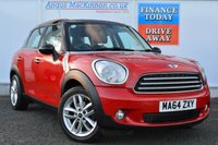 USED 2014 64 MINI COUNTRYMAN 1.6 COOPER D ALL4 5d 112 BHP ONE OWNER FROM NEW