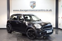 USED 2014 63 MINI COUNTRYMAN 2.0 COOPER SD 5DR 141 BHP + FULL SERVICE HISTORY + BLUETOOTH + SPORT SEATS + DAB RADIO + PARKING SENSORS + 17 INCH ALLOY WHEELS +