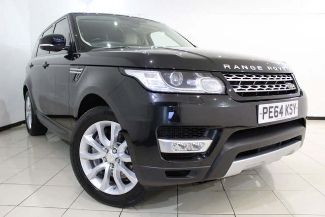 View our 2014 64 LAND ROVER RANGE ROVER SPORT 3.0 SDV6 HSE 5DR AUTOMATIC 288 BHP