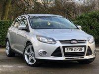2012 FORD FOCUS 1.6 TITANIUM TDCI 115 5d 114 BHP £7500.00