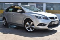 USED 2009 09 FORD FOCUS 1.6 ZETEC 5d 100 BHP THE CAR FINANCE SPECIALIST