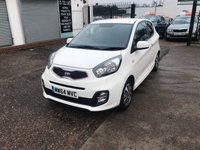 USED 2014 64 KIA PICANTO 1.0 VR7 3d 68 BHP 1 Owner-Only 10,000 Miles-Air Con-Bluetooth-Rear Park Sensors