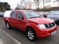 USED 2014 64 NISSAN NAVARA 2.5 DCI VISIA 4X4 SHR DCB 1d 144 BHP 1 OWNER, FULL SERVICE HISTORY, STUNNING EXAMPLE THROUGHOUT, DRIVES SUPERBLY !!