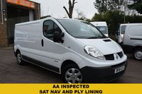 2011 RENAULT TRAFIC 2.0 LL29 DCI S/R 1d 115 BHP £5999.00