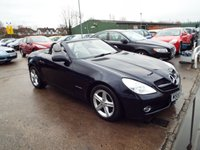 USED 2008 58 MERCEDES-BENZ SLK 1.8 SLK200 KOMPRESSOR 2d AUTO 184 BHP FREE 12 MONTH AA ROADSIDE RECOVERY INCLUDED