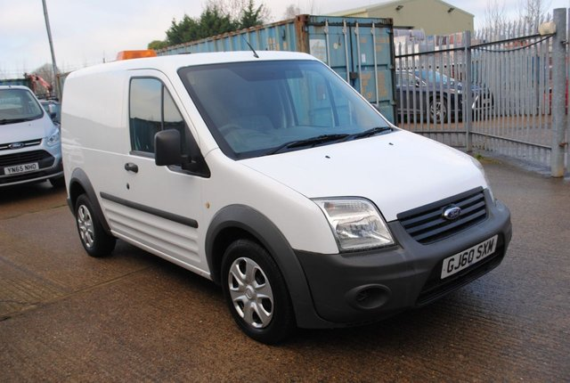 2010 60 FORD TRANSIT CONNECT 1.8 T220 LR 1d 75 BHP