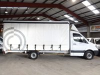 2013 MERCEDES-BENZ SPRINTER 2.1 313 CDI LWB  130BHP EXTRA LWB CURTAINSIDER-ONE OWNER WITH SERVICE HISTORY £14250.00