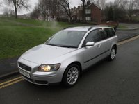 2005 VOLVO V50 1.8 S 5d 125 BHP £3499.00