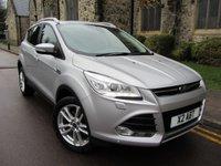 2013 FORD KUGA 2.0 TITANIUM X TDCI 5d AUTO 160 BHP £14995.00