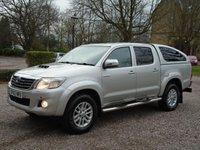 2012 TOYOTA HI-LUX 3.0 INVINCIBLE 4X4 D-4D DCB 1d AUTO 169 BHP £14250.00