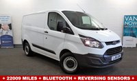 2016 FORD TRANSIT CUSTOM 2.2 290 ECO-TECH 100 BHP + Bluetooth Phone and Media Connectivity+ Reverse Parking Sensors+ £10990.00