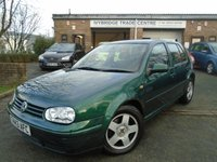 USED 1999 T VOLKSWAGEN GOLF 1.9 GT TDI 5d 109 BHP GREAT VALUE DIESEL GOLF GT TDi
