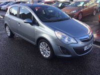 USED 2012 12 VAUXHALL CORSA 1.2 SE 5d 83 BHP PRICE INCLUDES A 6 MONTH AA WARRANTY DEALER CARE EXTENDED GUARANTEE, 1 YEARS MOT AND A OIL & FILTERS SERVICE. 6 MONTHS FREE BREAKDOWN COVER.
