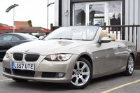 USED 2007 57 BMW 3 SERIES 3.0 325I SE 2d AUTO 215 BHP SUPERB LOOKING CAR IN METALLIC BEIGE WITH CREAM INTERIOR, LONG MOT AND GREAT SPEC