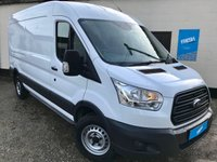 USED 2015 65 FORD TRANSIT 2.2 350 L3H3 High Roof LWB Panel Van  * 0% Deposit Finance Available