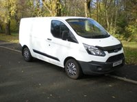 2013 FORD TRANSIT CUSTOM 2.2 270 LR P/V 1d 99 BHP £8995.00