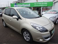 USED 2011 11 RENAULT SCENIC 1.6 DYNAMIQUE TOMTOM ENERGY DCI S/S 5d 130 BHP 12 MONTHS MOT... 6 MONTHS WARRANTY.. 1 OWNER FROM NEW... FULL HISTORY