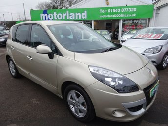 2011 RENAULT SCENIC 1.6 DYNAMIQUE TOMTOM ENERGY DCI S/S 5d 130 BHP £6000.00