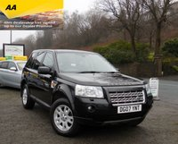 USED 2007 07 LAND ROVER FREELANDER 2.2 TD4 SE 5d 159 BHP ONLY 1 PREVIOUS OWNER, 2 X KEYS, GREAT SPEC INC HALF LEATHER HEATED SEATS, SAT NAV, SUNROOFS