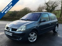 USED 2005 05 RENAULT CLIO 1.1 DYNAMIQUE 16V 3d 75 BHP **VEHICLE AT OUR UGBOROUGH  BRANCH**