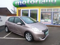 USED 2014 64 PEUGEOT 208 1.4 ACTIVE HDI 5d 68 BHP JUST ARRIVED LOW TAX DIESEL