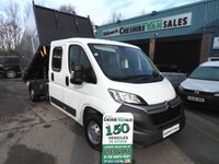 2016 CITROEN RELAY 2.2 TREE SURGEON ARBORIST TIPPER CHOICE OF ARB IN STOCK 130 BHP FSH £16795.00