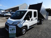 2016 CITROEN RELAY 2.2 35 L3 HDI TIPPER ARBORIST TREE SURGEON ARB CREW CAB 130 BHP LOW MILES CHOICE  £15995.00