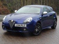 2014 ALFA ROMEO GIULIETTA 2.0 JTDM-2 SPORTIVA NAV 5d 150 BHP £8555.00