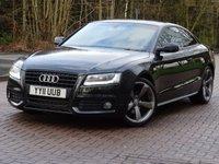 2011 AUDI A5 2.0 TDI S LINE BLACK EDITION 2d 168 BHP £15555.00